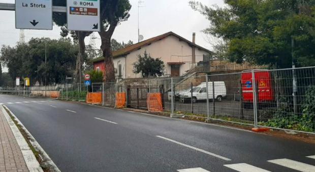 Via Trionfale, l'annuncio di Raggi: «Ecco i nuovi marciapiedi»