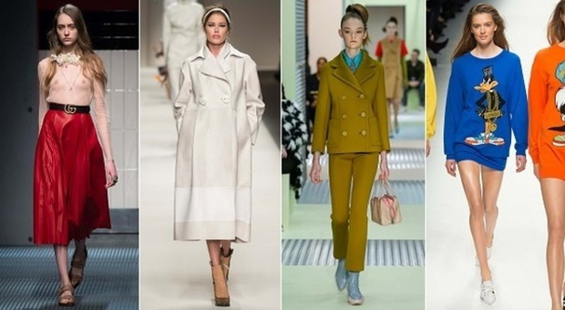 newest 4abcf 3bbd7 Gucci, Fendi, Prada e Moschino: le tendenze dalla Milano ...