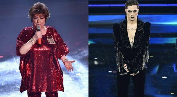 """Orietta Berti, che gaffe a Sanremo: i Maneskin diventano i «Naziskin». E non solo: «Canterei con Ermal """"Metal""""»"""