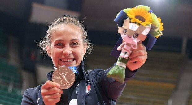 Tokyo 2020, da Roma Montesacro al bronzo nel judo, Odette Giuffrida non si  accontenta: «L'oro a Parigi» Il record europeo
