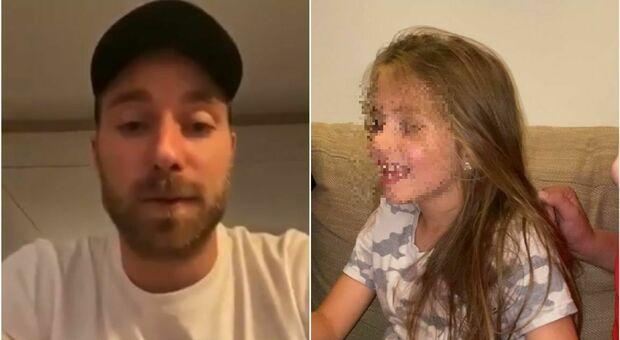 Eriksen e il videomessaggio per Evia, la bimba malata di cuore: «Andrà tutto bene»