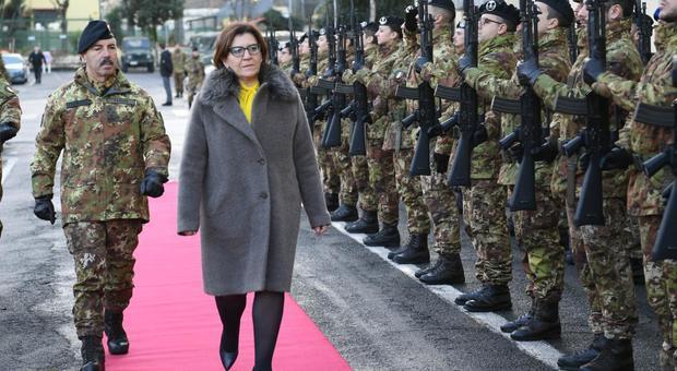 Difesa, il ministro Trenta alla città militare Cecchignola, visita a «Grandi infrastrutture-Caserme verdi»