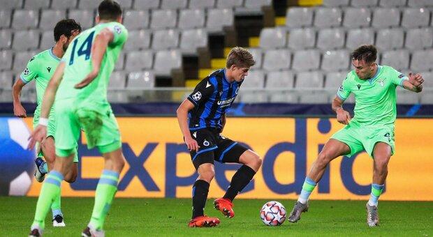 Live Brugge-Lazio dalle 21 diretta: probabili formazioni, Inzaghi è in emergenza