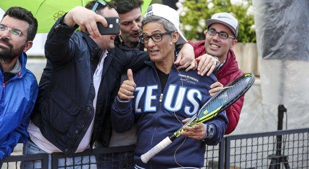 Tennis & Friends al Foro Italico: sui campi arrivano Rosario Fiorello ...