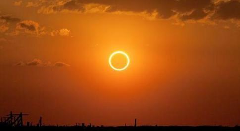 Un'eclissidi Sole