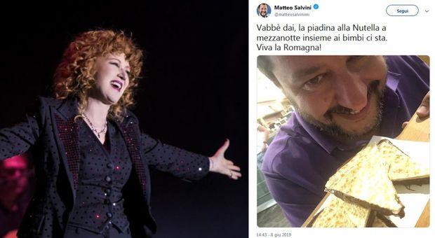 Salvini e la Nutella, sberleffo social di Fiorella Mannoia