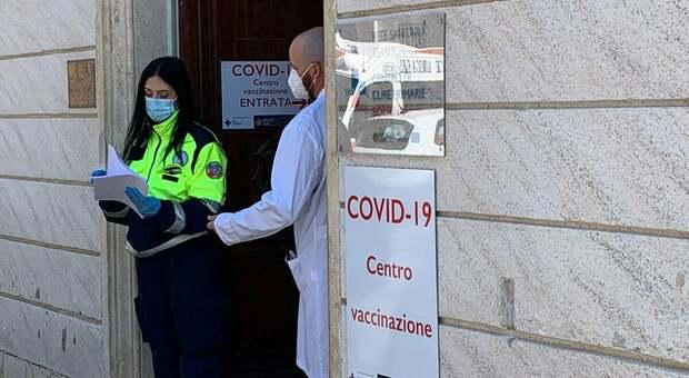 Il centro vaccini a Bolsena