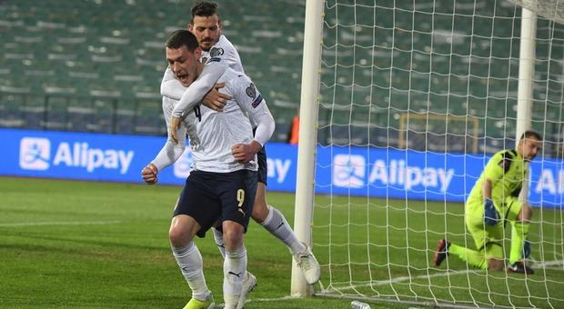 Bulgaria-Italia 0-2: Belotti e Locatelli sono decisivi. Prima vittoria azzurra in terra bulgara