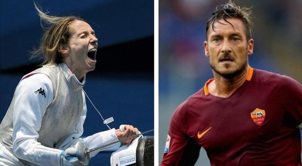 La campagna del Governo con testimonial della cultura e dello sport come Vezzali e Totti