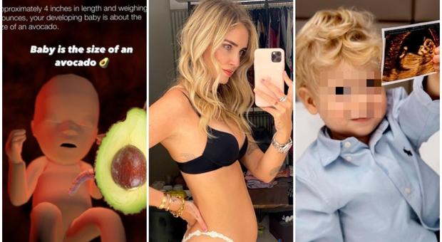 Chiara Ferragni incinta, il bimbo in arrivo è «grande come un avocado». E spunta il primo pancino