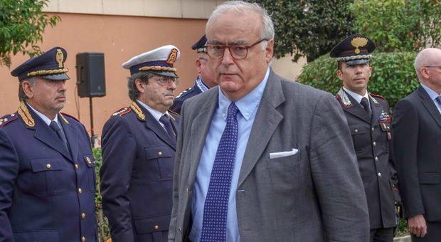 Il prefetto di Frosinone Ignazio Portelli