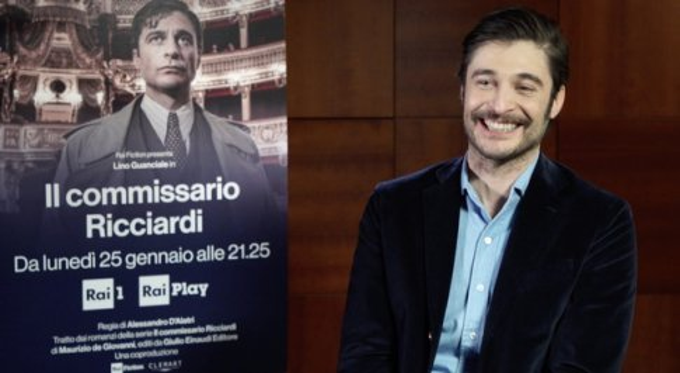 Lino Guanciale: «Il mio Commissario Ricciardi come Dylan Dog»