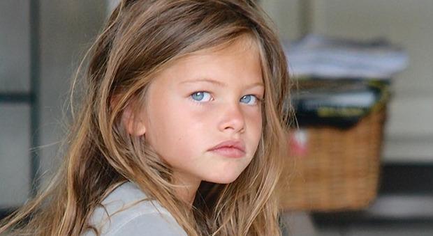 Thylane Blondeau, «la bambina più bella del mondo», ora è una bellissima modella