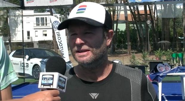 """Marcelo Capitani, vincitore del """"Giulianova open"""" in coppia con Daniele Cattaneo"""