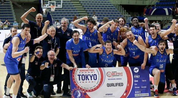 Basket, Italia immensa: batte la Serbia a casa sua e vola alle Olimpiadi di Tokyo dopo 17 anni