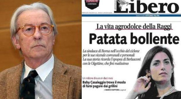 Vittorio Feltri a giudizio per il titolo