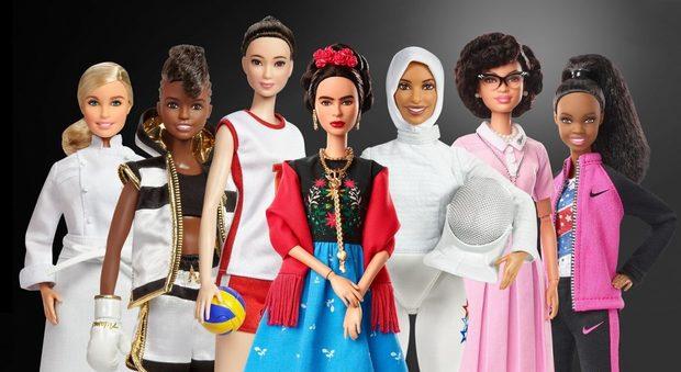 """Barbie si rifà il look, arrivano Frida e le altre """"donne modello"""": c'è anche un'italiana"""