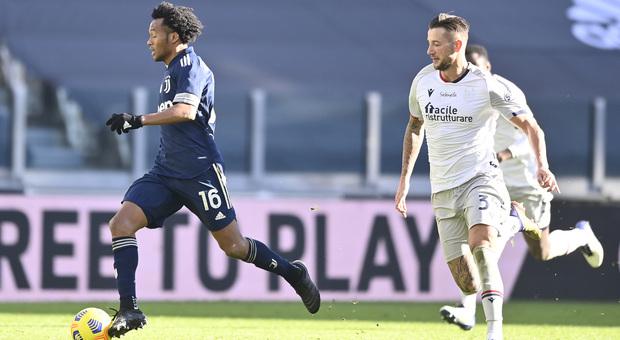 Pagelle Juve-Bologna: Szczesny ancora decisivo, super Cuadrado. Male Bernardeschi