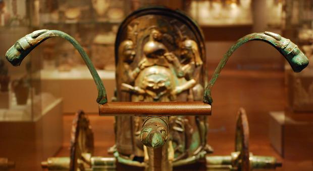 La biga etrusca di Monteleone