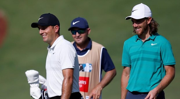 Golf, Dubai, Primo Round: Francesco Molinari è quinto