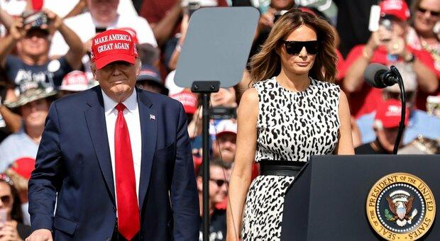 Melania Trump divorzia da Donald? Il gossip impazza ma è tutto un bluff: ecco perché