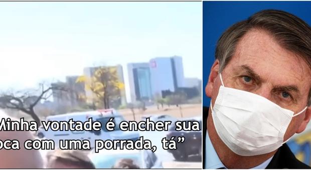 Bolsonaro, nuovo scivolone: minacce al giornalista. «Ti darei un pugno in bocca»
