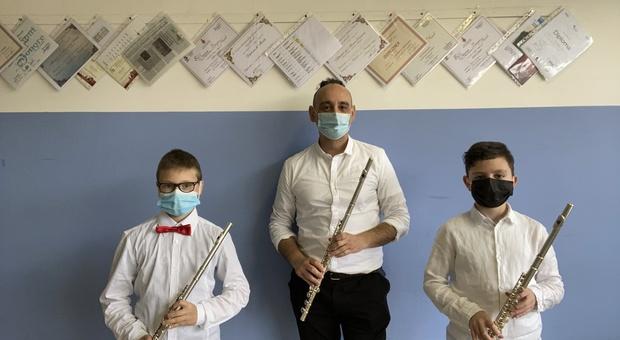 Studenti-musicisti della Basilio Sisti brillano nel concorso online