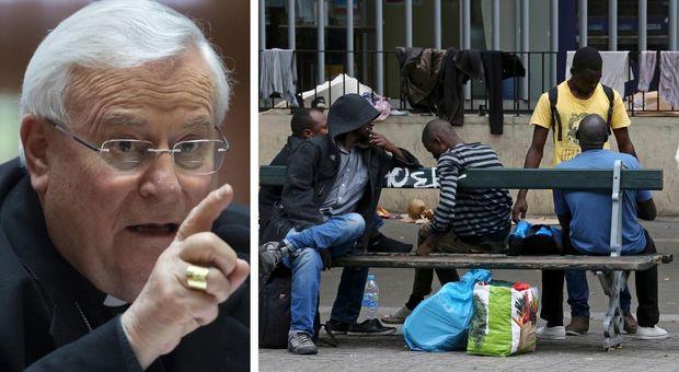 Caritas: «Italia terza in Ue per presenza di migranti davanti a Francia e Spagna»