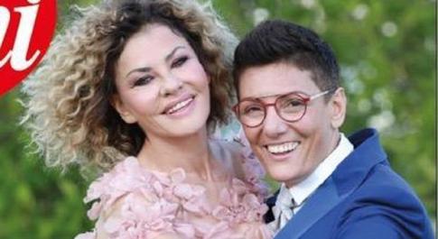 Eva Grimaldi e Imma Battaglia si sono sposate