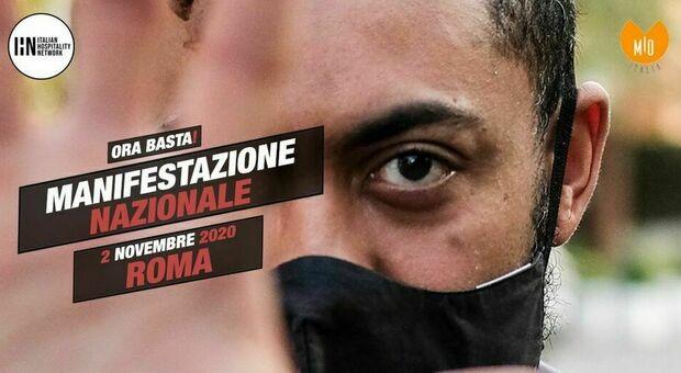 Covid Roma, il 2 novembre ristoratori a piazza del Popolo: «Manifestazione pacifica, ci dissociamo dai violenti»