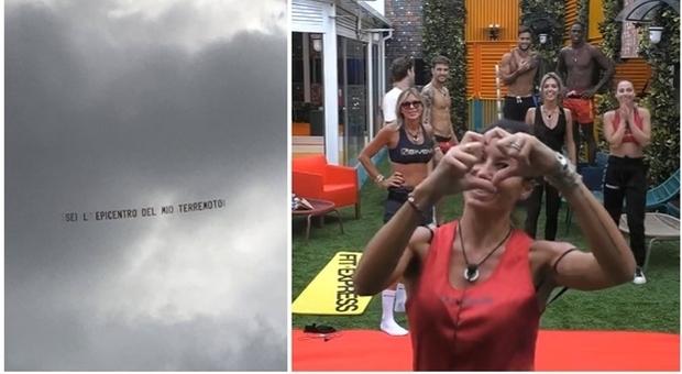 Grande Fratello Vip, Elisabetta Gregoraci, la rivelazione a Pomeriggio 5: ecco chi ha mandato l'aereo con la frase d'amore