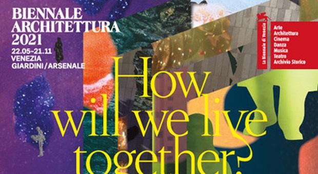 Il manifesto della 17ma Biennale di Architettura che si svolgerà a Venezia