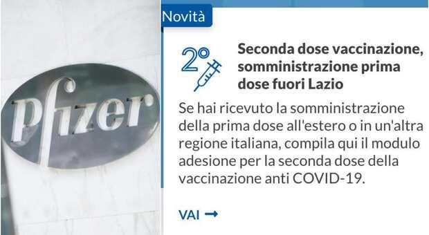 Vaccini Lazio, seconda dose anche per chi è in vacanza: come prenotare