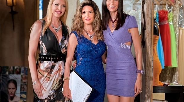 Fashion show a Porto Cervo con Perla Monsè e Tania Zamparo