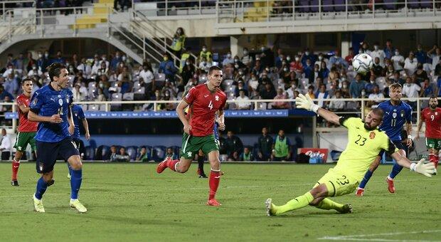 Italia-Bulgaria 1-1: al vantaggio di Chiesa risponde Iliev, ripartenza in  salita per gli uomini di Mancini