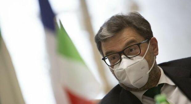 """Giorgetti spinge Draghi al Quirinale: """"E' interesse del Paese"""""""