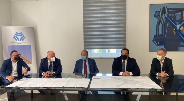 Frosinone, il sottosegretario Durigon in visita all'Asi: «Con il Consorzio Unico rimessi al centro gli interessi del territorio»