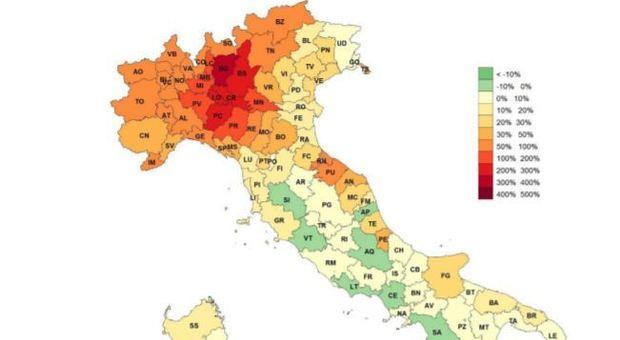 Cartina Italiana Con Province.Coronavirus In Provincia Di Latina La Mortalita Tra Le Piu Basse D Italia