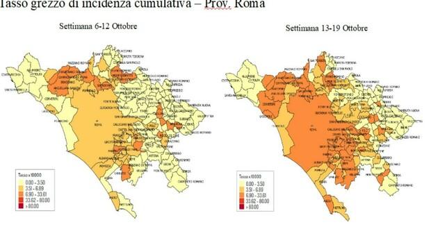Covid, Roma e il Lazio: in 14 giorni boom di