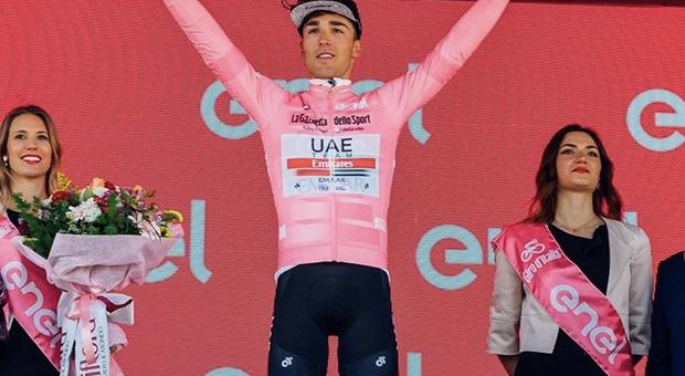 Valerio Conti: «Voglio tornare al Giro e vestire di nuovo la maglia rosa»