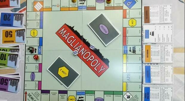 Nasce la versione maglianese del Monopoli, l'ideatore è il giovane Francesco Beccaccioli