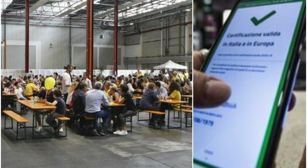 Operai senza Green pass al self service, Electrolux chiude la mensa di Susegana per 700 operai