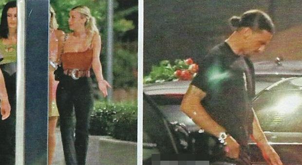 Diletta Leotta, serata con Zlatan Ibrahimovic (Chi)