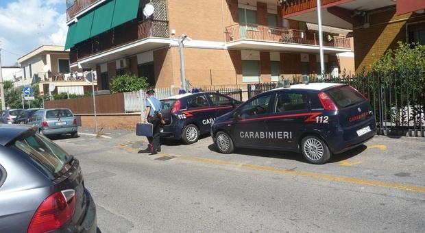 Al supermercato sono intervenuti i carabinieri