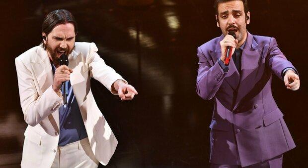 Sanremo 2021, la classifica: Colapesce Dimartino vincono la quarta serata, ma Ermal Meta resta in vetta