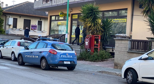 Rapina armata alle Poste di Pescara: bottino 300mila euro