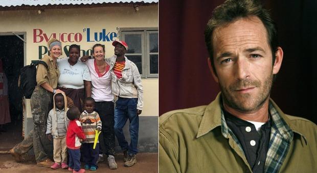 Morte di Luke Perry, la figlia gli dedica una scuola in Malawi