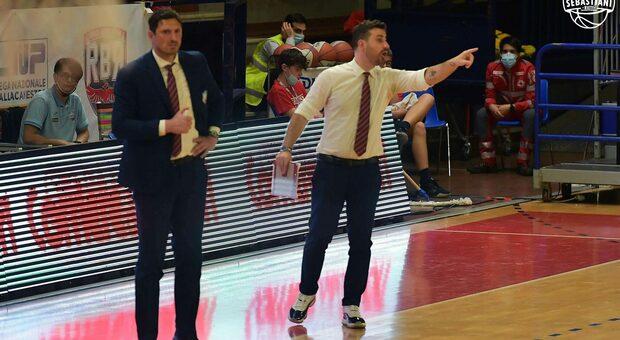 L'assistant coach Antonio Carone (foto Ufficio stampa Real Sebastiani)