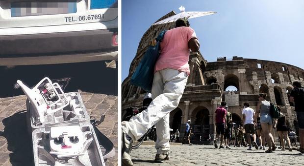 Roma, nel Colosseo fa volare un drone che precipita sulle gradinate: turista denunciato. Niente danni ai reperti