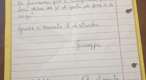 """Cassino, scrive una lettera di aiuto alla parrocchia ma è una """"bufala"""""""